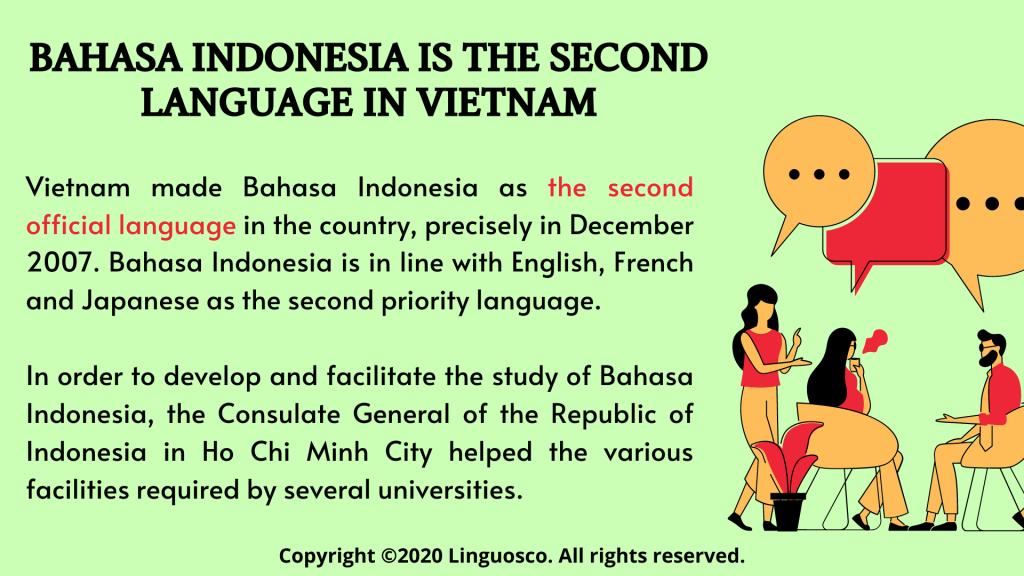 Bahasa Indonesia is part of Malayan language