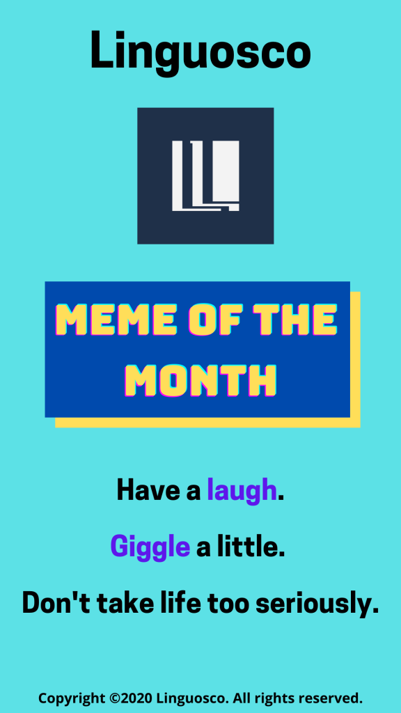 Meme of the Month