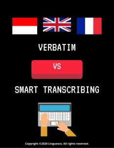 Verbatim vs Smart
