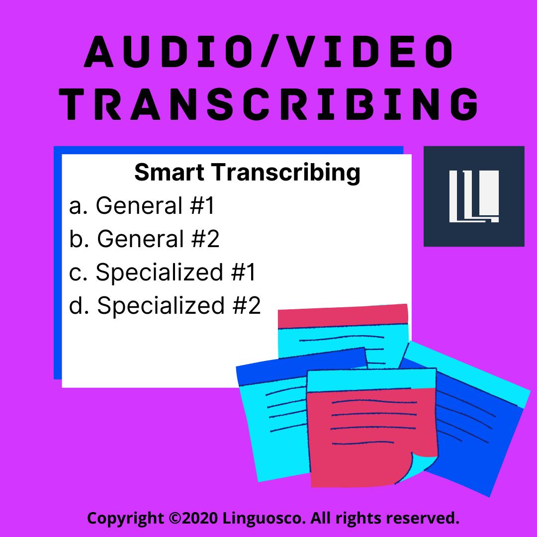 Smart Transcribing