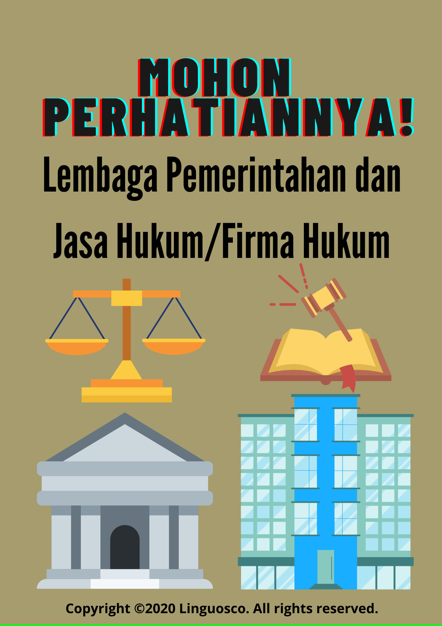 Personalized Ads - Law Firms and Government Institutions