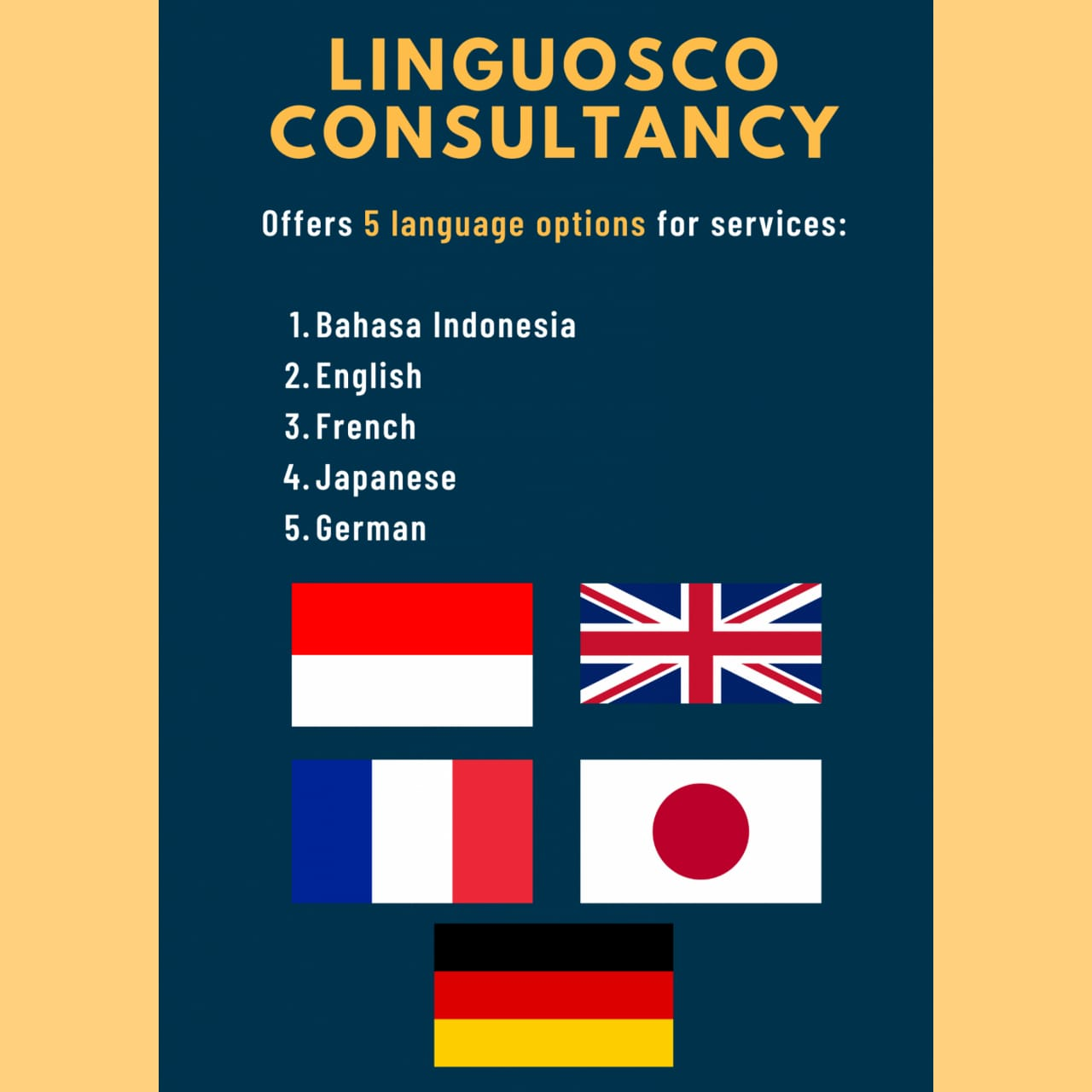 Linguosco - Delivering Crafted Excellence