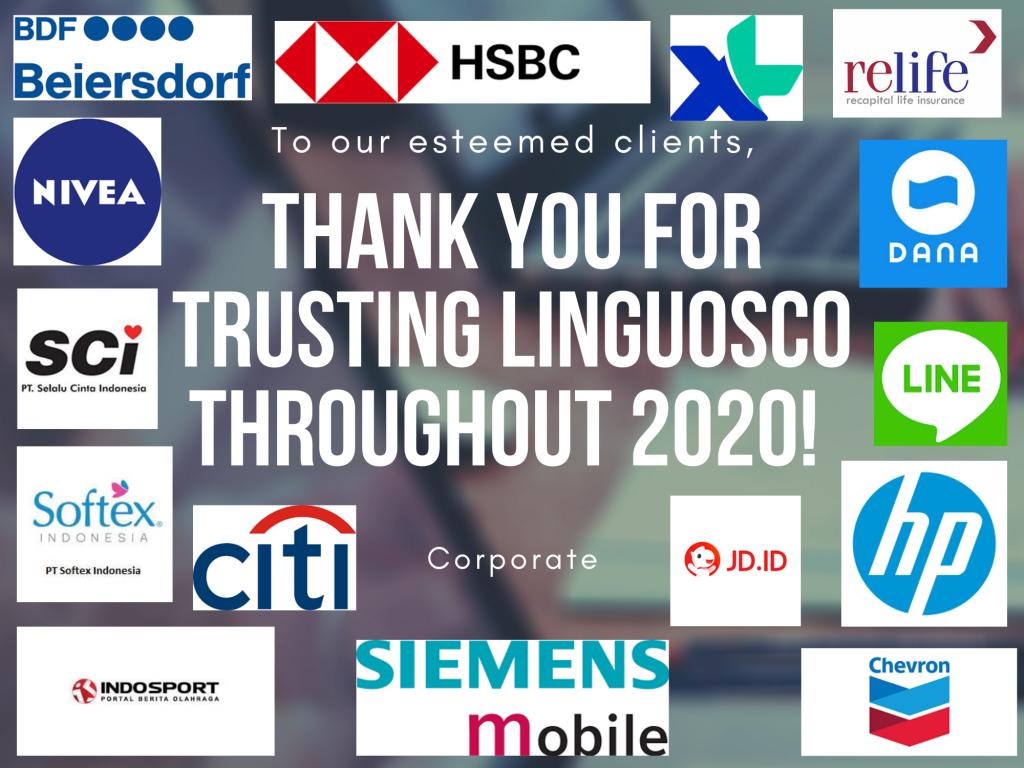 Corporate Clients - Linguosco