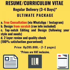 Resume - Regular Delivery - Ultimate