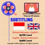Subtitling English