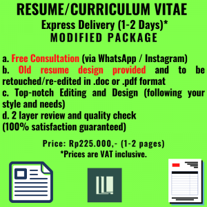 Resume - Express - Modified