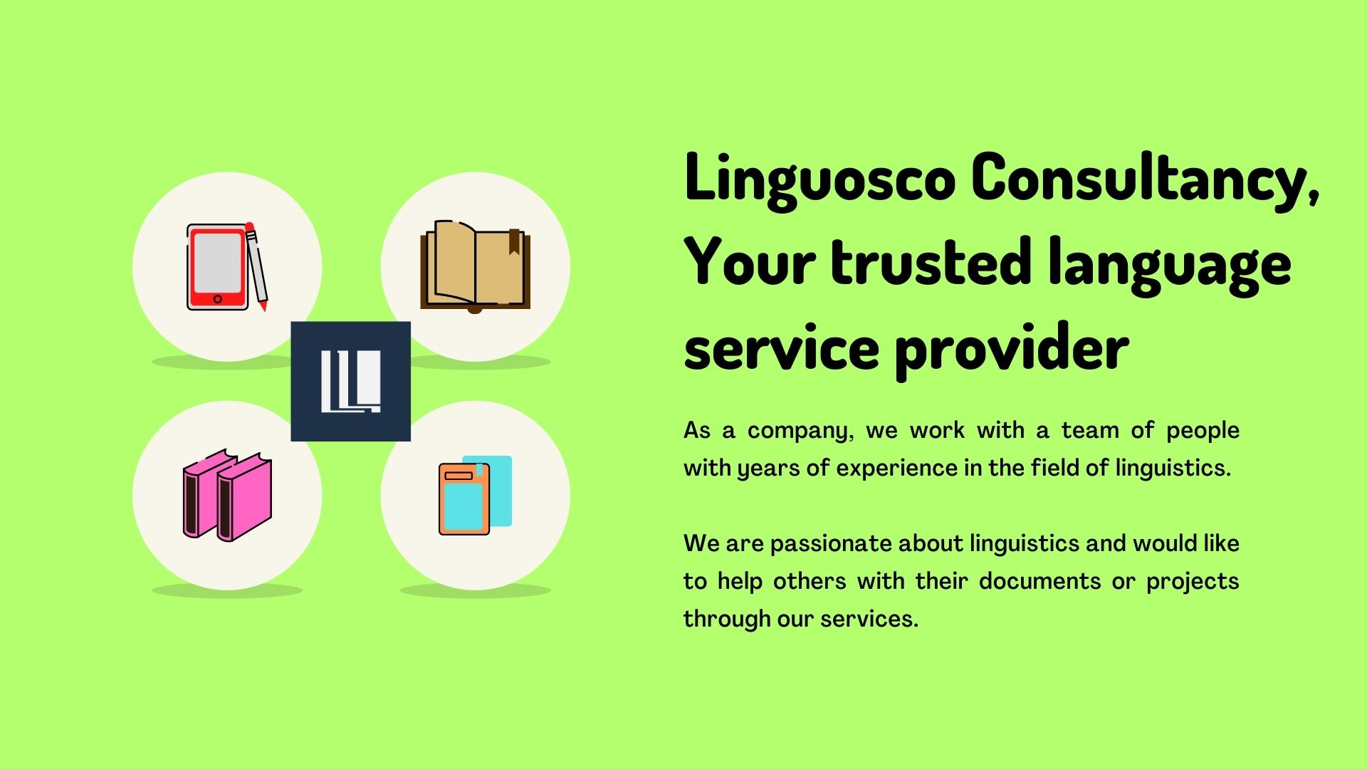 Linguosco - Your trusted language service provider