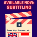 Available for Subtitling