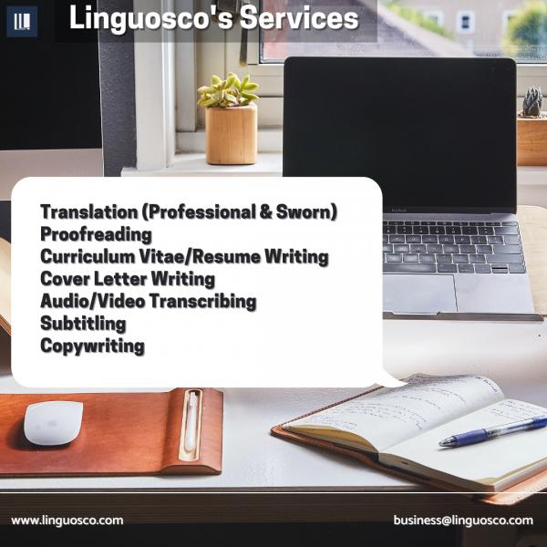 Linguosco's Services